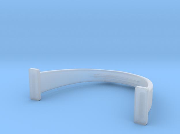 Higgins Radar Mast S0 24th scale cradle in Smooth Fine Detail Plastic