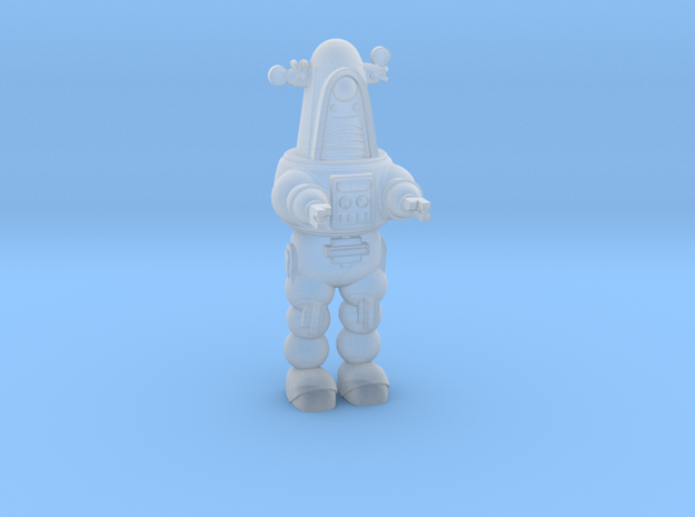 1-87 Scale Rob-Bot v3 in Smooth Fine Detail Plastic