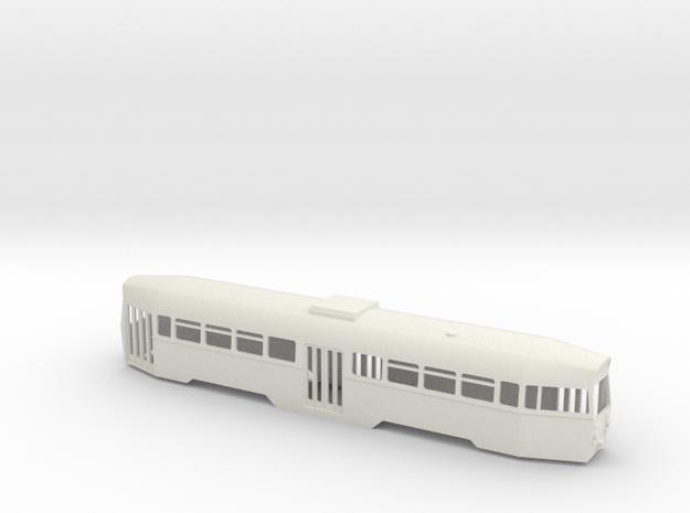 Blackpool OMO Tram 00 scale in White Natural Versatile Plastic