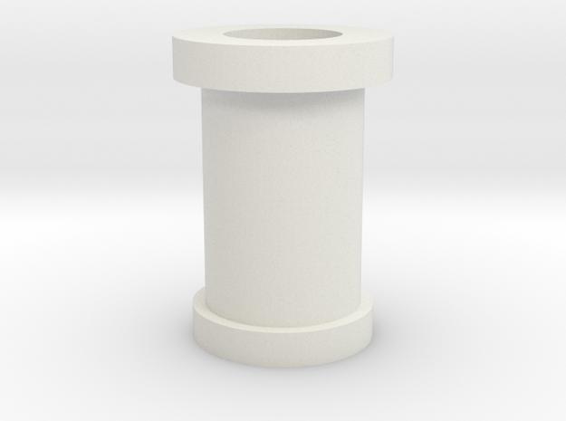 08.03.02.07 Spacer Rev1 in White Natural Versatile Plastic
