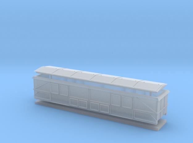 DRG OOtn42/DB OOt22 Ba Oldenburg Spur TT mit Haube in Smooth Fine Detail Plastic