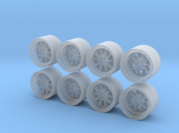 AGLE Strusse 815-55 1/64 Scale Wheels in Smooth Fine Detail Plastic