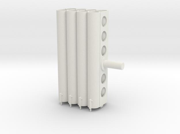 rocketlauncher24th barrels in White Natural Versatile Plastic