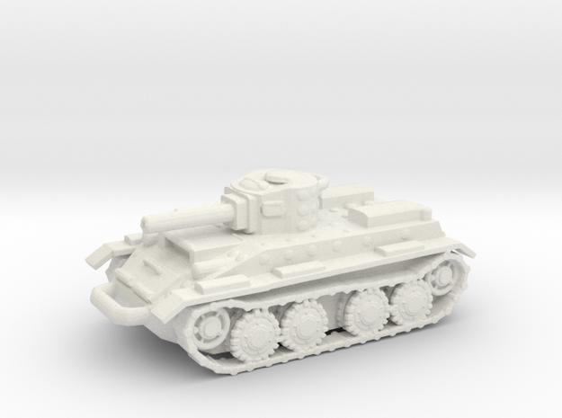 BT2 v1 in White Natural Versatile Plastic