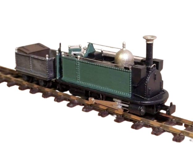 009 FR 'The Princess' c1870 in Smooth Fine Detail Plastic