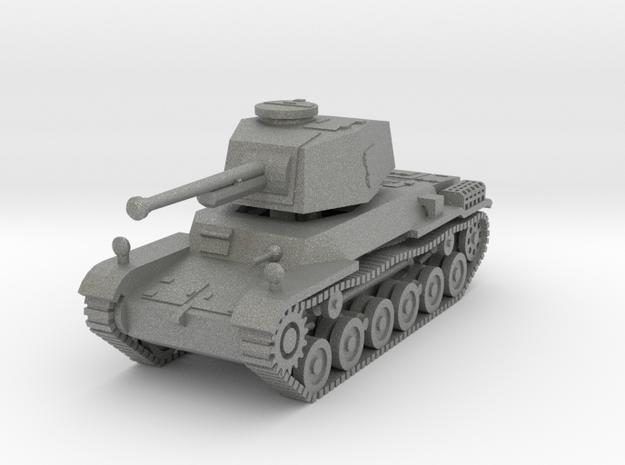 1/144 IJA Type 3 Chi-Nu Medium Tank separate turre in Gray PA12