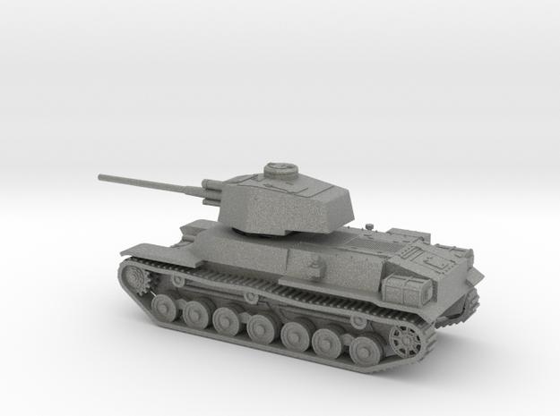 1/144 IJA Type 4 Chi-To Medium Tank separate turre in Gray PA12