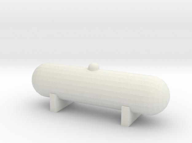 Propane Tank (1:160) in White Natural Versatile Plastic
