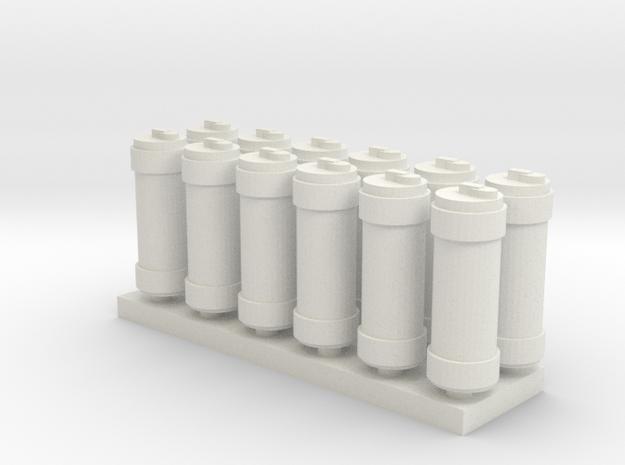 Bochka in White Natural Versatile Plastic
