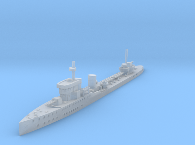 1/700 Psilander Class Destroyer in Smooth Fine Detail Plastic