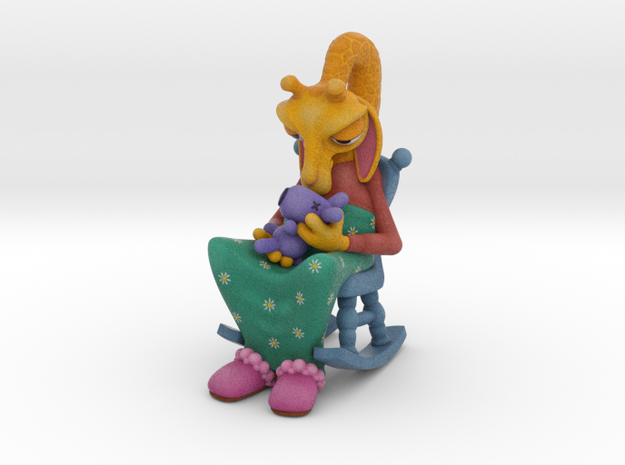 The Gift 3d printed