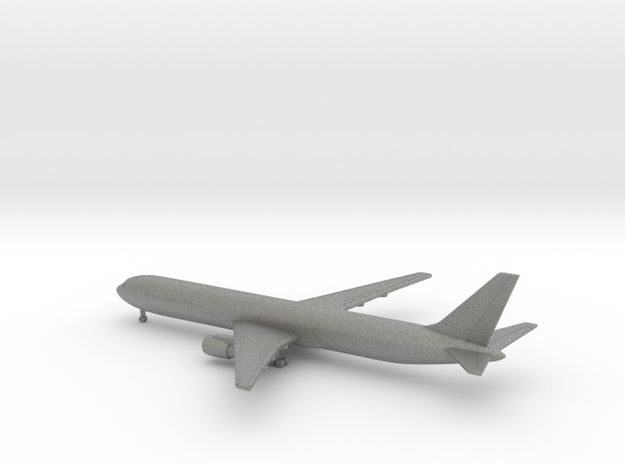 Boeing 767-400 in Gray PA12: 1:700