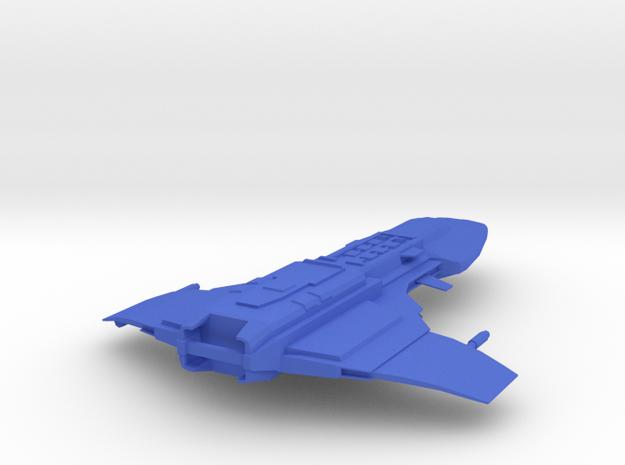 Star Wars Marauder Frigate Fishing Lure in Blue Processed Versatile Plastic