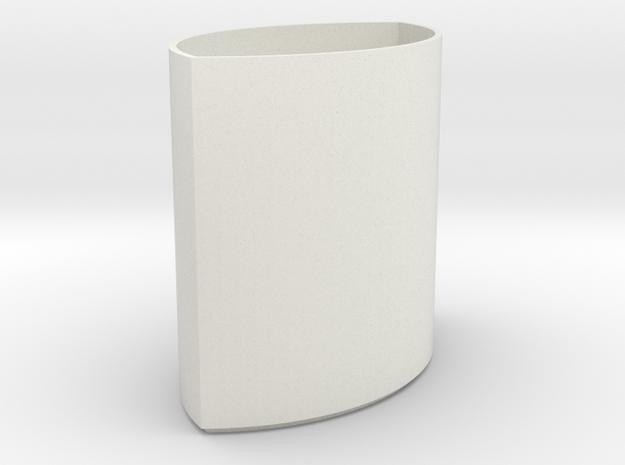 lawal 108 mm viseca piscis in White Natural Versatile Plastic
