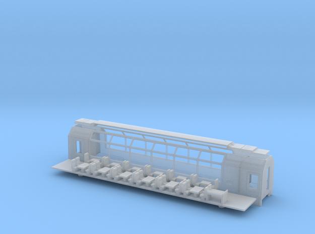 RhB Ap 1313-1315 / MGB Ap 4043-4045 in Smooth Fine Detail Plastic: 1:120 - TT