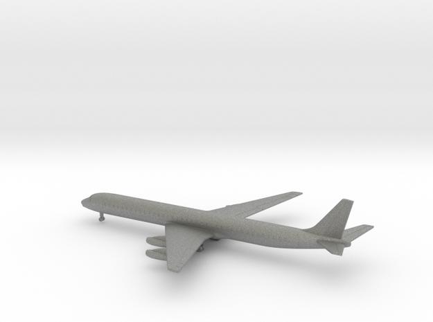 Douglas DC-8-63 in Gray PA12: 1:600