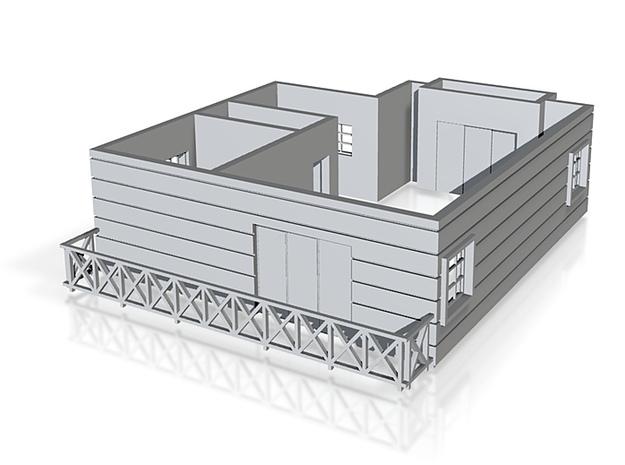 Pent floor plan_150 3d printed