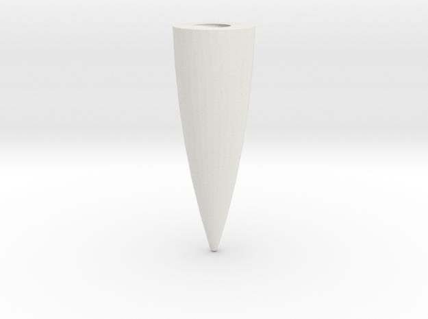 sbootprop20thLocknut in White Natural Versatile Plastic