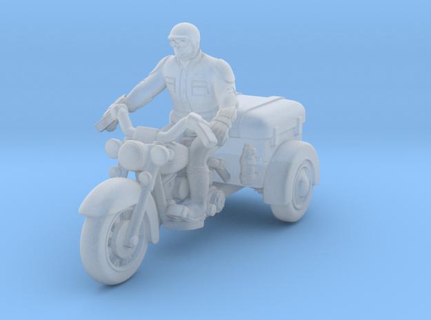 Police Harley Davidson Trike Survivor Rider1:87 HO in Smooth Fine Detail Plastic