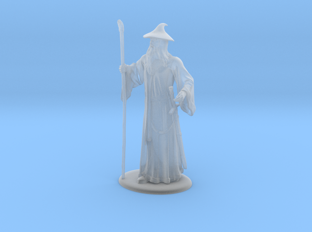 Gandalf Miniature in Smoothest Fine Detail Plastic: 1:60.96