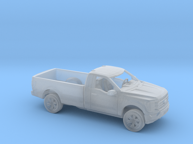 1/87 2021 Ford F150 Regular Cab Long Bed Kit in Smooth Fine Detail Plastic