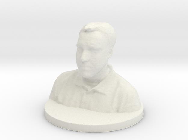Hannes (OBJ) in White Natural Versatile Plastic