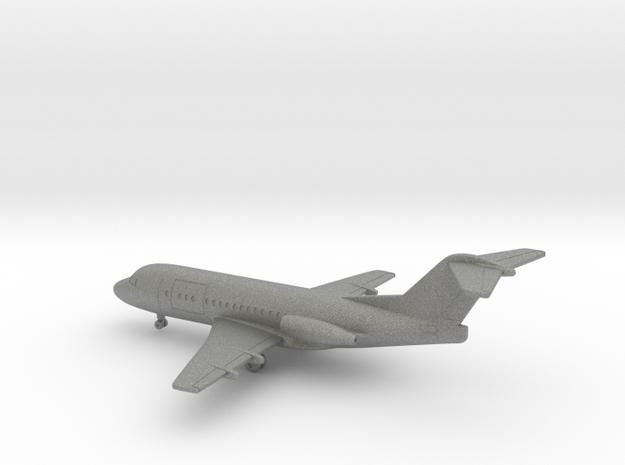 Fokker F28-1000C Fellowship in Gray PA12: 1:350