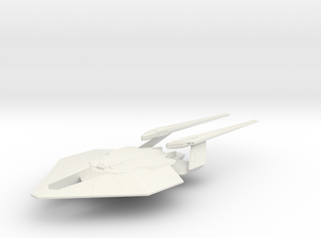 1/7000 Deimos Class Stealth Mode in White Natural Versatile Plastic