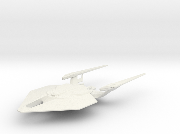 1/7000 Deimos Class in White Natural Versatile Plastic