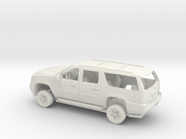 1/72 2007-14 Chevrolet Suburban Kit in White Natural Versatile Plastic