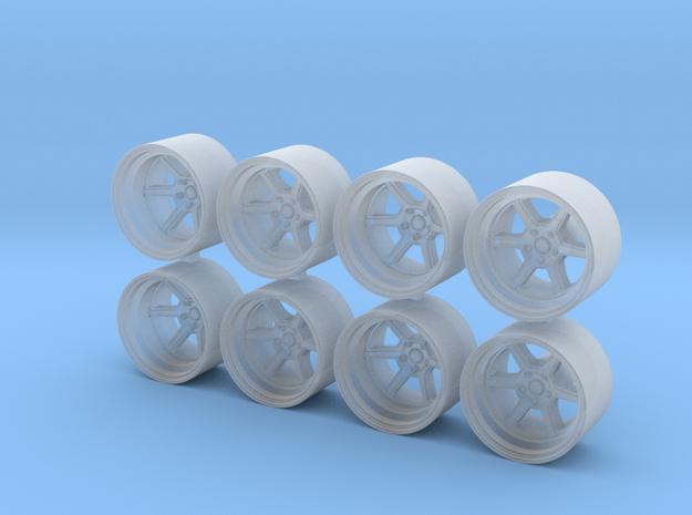 K Roku 8.15x5 1/64 Scale Wheels in Smooth Fine Detail Plastic