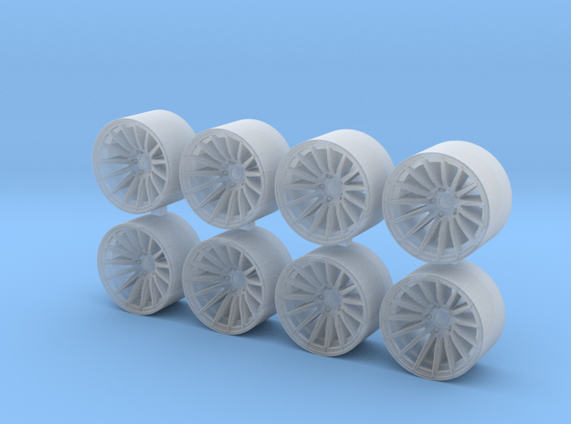 RS05RR 8.15x5 1/64 Scale Wheels in Smooth Fine Detail Plastic
