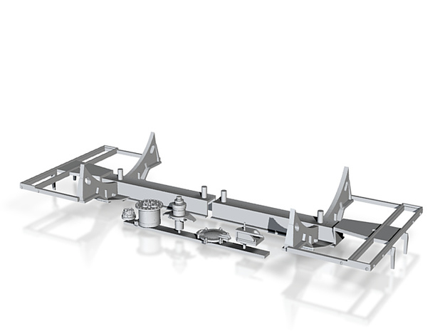 TA-Nonpressure-30000 Fahrwerk 3d printed