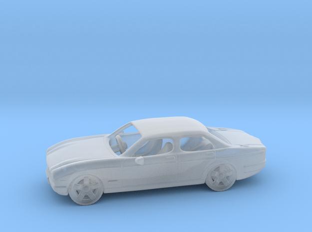 Jaguar XJ6 1:160 N in Smooth Fine Detail Plastic