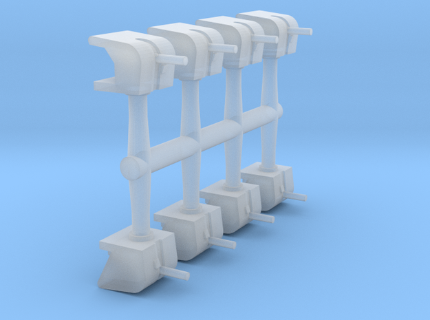 1/700 5in/25 Shielded High-Angle Mounts (8x)