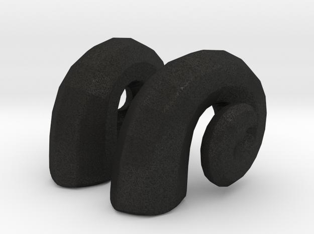 Bjd Ram Horns: side Magnet SD size 3d printed