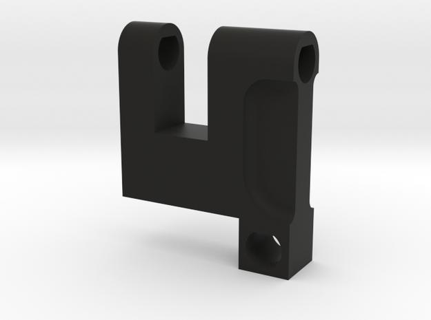 Type 98 Gunsight aux sight block in Black Natural Versatile Plastic