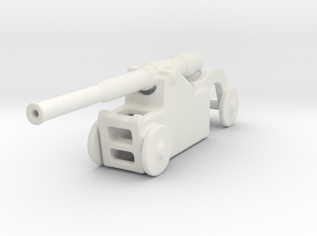 Italian 254mm cannon 1/160 2 in White Natural Versatile Plastic