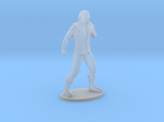 Half-Orc Miniature in Smooth Fine Detail Plastic: 1:60.96