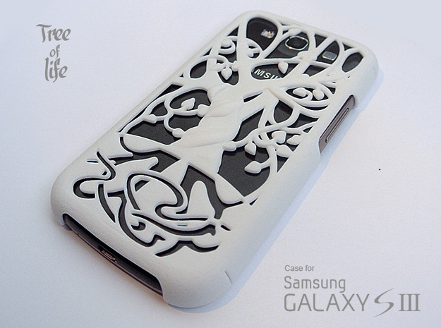 "Samsung - Galaxy S3 ""Tree of life"" Cover Case"