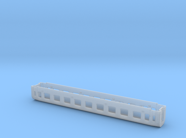 1:160-passenger PKP 112A - 1 class in Smoothest Fine Detail Plastic