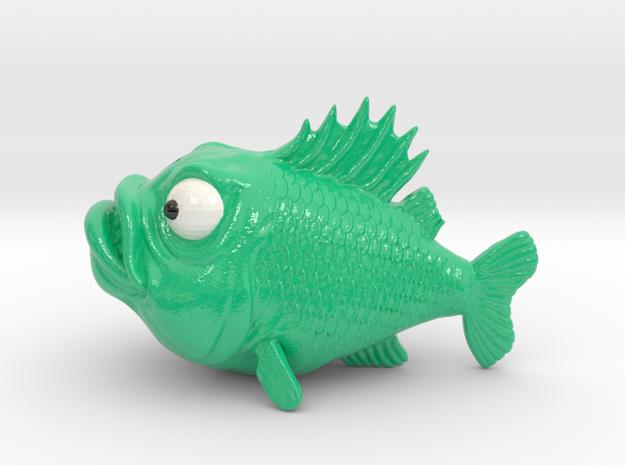 SpearFish USB Lamp in Glossy Full Color Sandstone