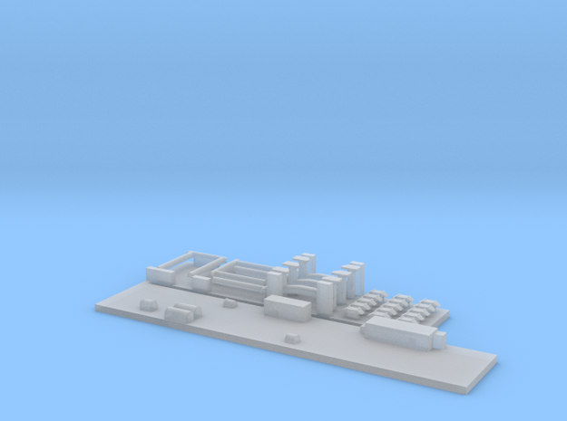 1:220-parts for PKP 111A, 112A and 609A in Smoothest Fine Detail Plastic
