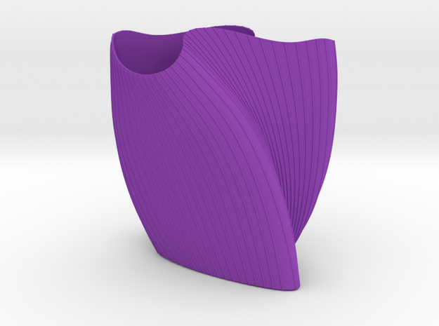 "wave vase ""Touch"" 3d printed"