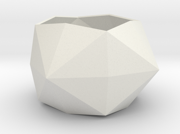 gmtrx lawal disdyakis dodecahedron  in White Natural Versatile Plastic