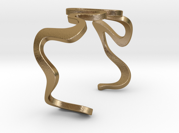 SNAKE cuff 3d printed