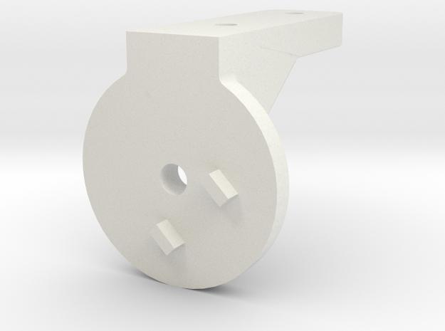 G3Flex-HangingMount-45CW in White Natural Versatile Plastic