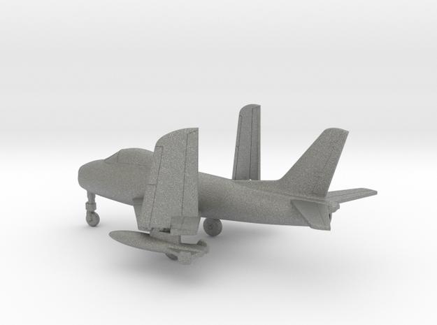 North American FJ-3M Fury (folded wings) in Gray PA12: 1:160 - N