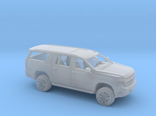 1/87 2020/21 Chevrolet Suburban Kit in Smooth Fine Detail Plastic