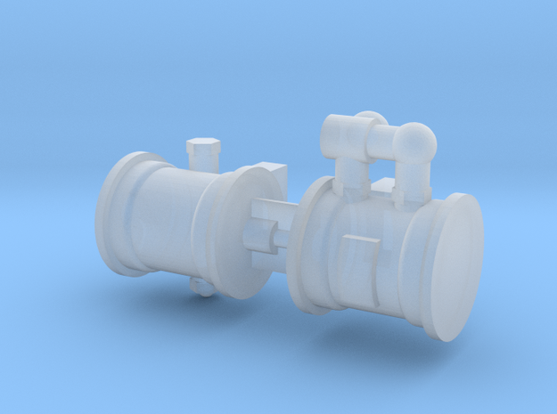 HO Scale LBSCR Craven Brake Pump in Smooth Fine Detail Plastic